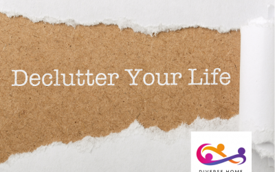 Decluttering – clearing your home and your mind!